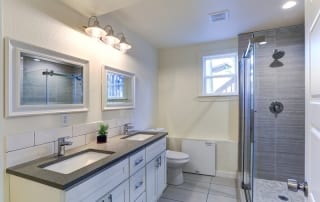After image of a bathroom renovation from pro style tile
